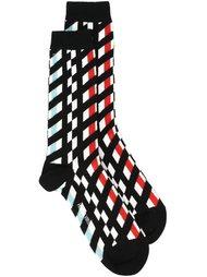 checked socks Henrik Vibskov
