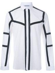 рубашка с контрастной окантовкой  Neil Barrett