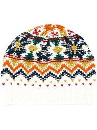 шапка-бини с орнаментом Vanessa Bruno Athé