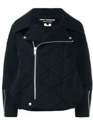 байкерская куртка с панельным дизайном Junya Watanabe Comme Des Garçons