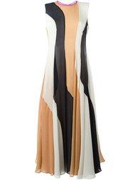 платье в стиле колор-блок  Roksanda