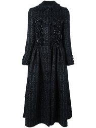пальто 'Princess' с украшениями Simone Rocha
