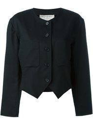 укороченная куртка  Yves Saint Laurent Vintage