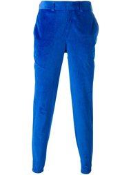 велюровые брюки-чинос Christopher Shannon