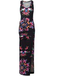 платье с цветочным принтом  Nicole Miller