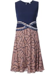 платье с абстрактным принтом  Diane Von Furstenberg