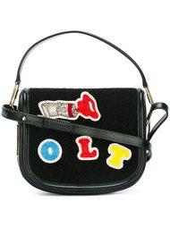 сумка через плечо с нашивками Olympia Le-Tan