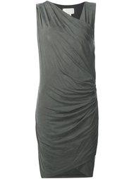 платье с драпированными деталями  Nicole Miller