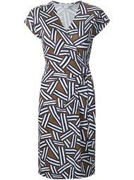платье c V-образным вырезом  Diane Von Furstenberg