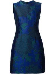 жаккардовое платье с цветочным узором  Paule Ka