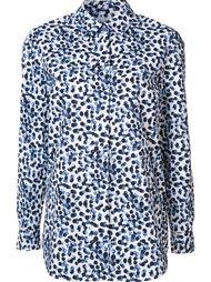 рубашка с пятнистым принтом Lafayette 148