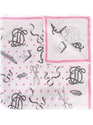 платок с графическим принтом Olympia Le-Tan