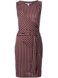 платье в полоску  Diane Von Furstenberg