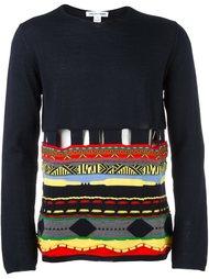 джемпер с орнаментом Comme Des Garçons Shirt