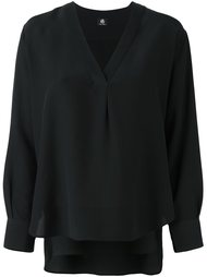 блузка с V-образным вырезом Ps By Paul Smith