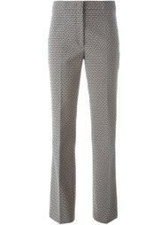 расклешенные брюки с абстрактным принтом Etro