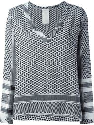 блузка с плетеным узором Cecilie Copenhagen