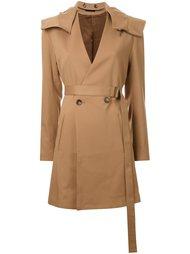 пальто с капюшоном G.V.G.V.