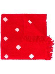 шарф с квадратным узором Suzusan