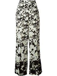 брюки с цветочным узором Twin-Set