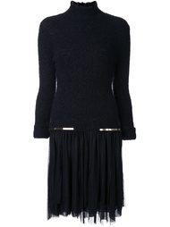 платье с золотистыми деталями  Jay Ahr