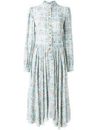 платье-рубашка с графическим принтом Olympia Le-Tan