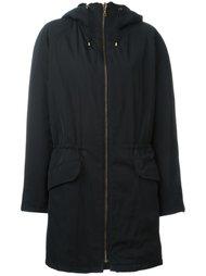 двухстороннее пальто с капюшоном Army Yves Salomon