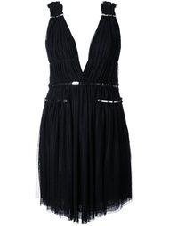платье с V-образным вырезом Jay Ahr