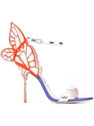 туфли с украшением в виде крыльев бабочки Sophia Webster
