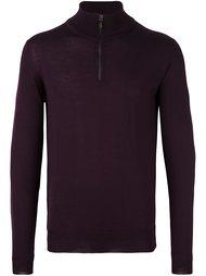 свитер с застежкой-молнией Etro