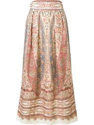 юбка с абстрактным принтом  Vilshenko