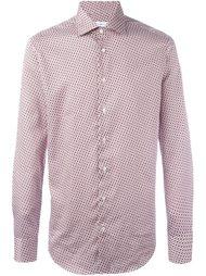 рубашка с геометрическим узором  Etro