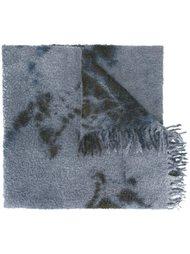 шарф с абстрактным узором Suzusan