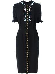 платье с застежкой на пуговицы Olympia Le-Tan