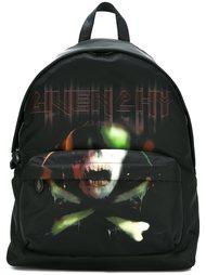 рюкзак с принтом черепа с костями Givenchy