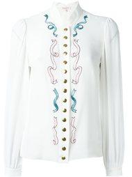 декорированная блузка Olympia Le-Tan