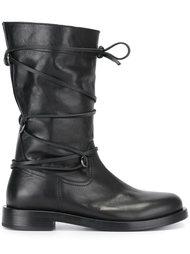 ботинки на шнуровке  Diesel Black Gold