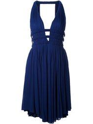 короткое платье без рукавов с V-образным вырезом Jay Ahr