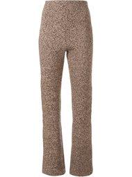 меланжевые брюки Scanlan Theodore