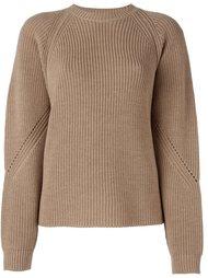 свитер в рубчик  MSGM