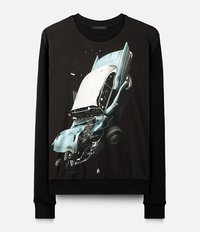 толстовка 'Car Crash' Christopher Kane
