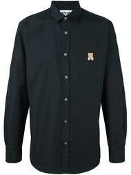рубашка с вышивкой  Moschino