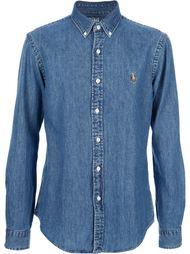 приталенная джинсовая рубашка Polo Ralph Lauren