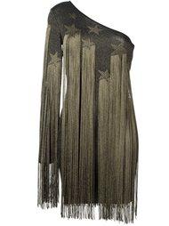 платье с бахромой Roberto Cavalli