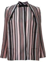 jagged weave jacket Scanlan Theodore