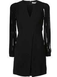 платье c V-образным вырезом  Halston Heritage