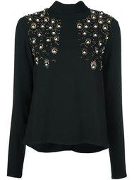 декорированная блузка MSGM