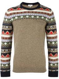 свитер с узором  Paul & Joe