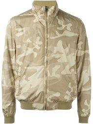 двухсторонняя куртка-бомбер с камуфляжным принтом Woolrich