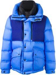 стеганая куртка дизайна колор-блок Moncler